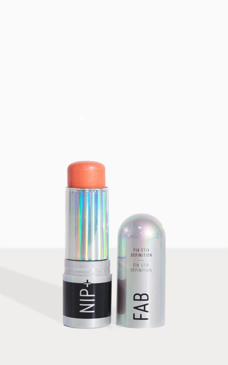 NIP&FAB Make Up Fix Stix Blush Electric Apricot