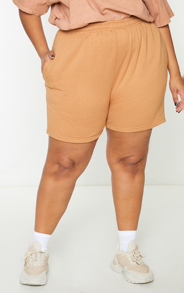 Plus Toffee Sweat Pocket Shorts 2