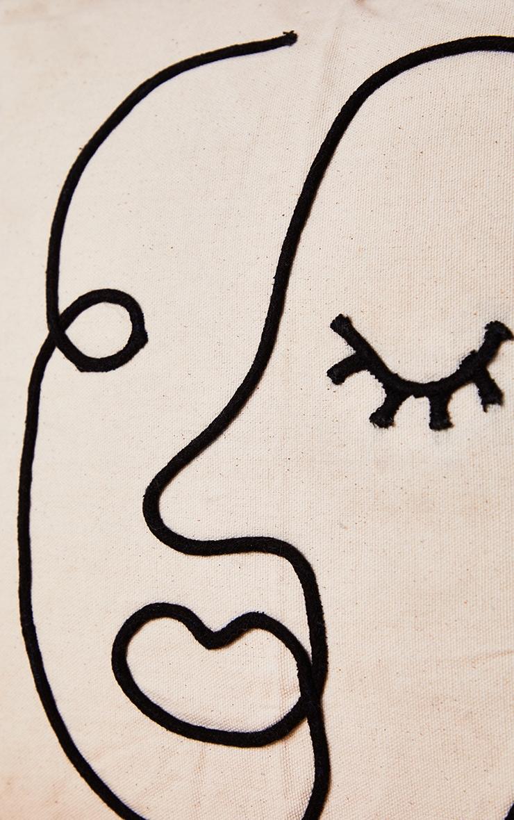 Abstract Face Cushion 4