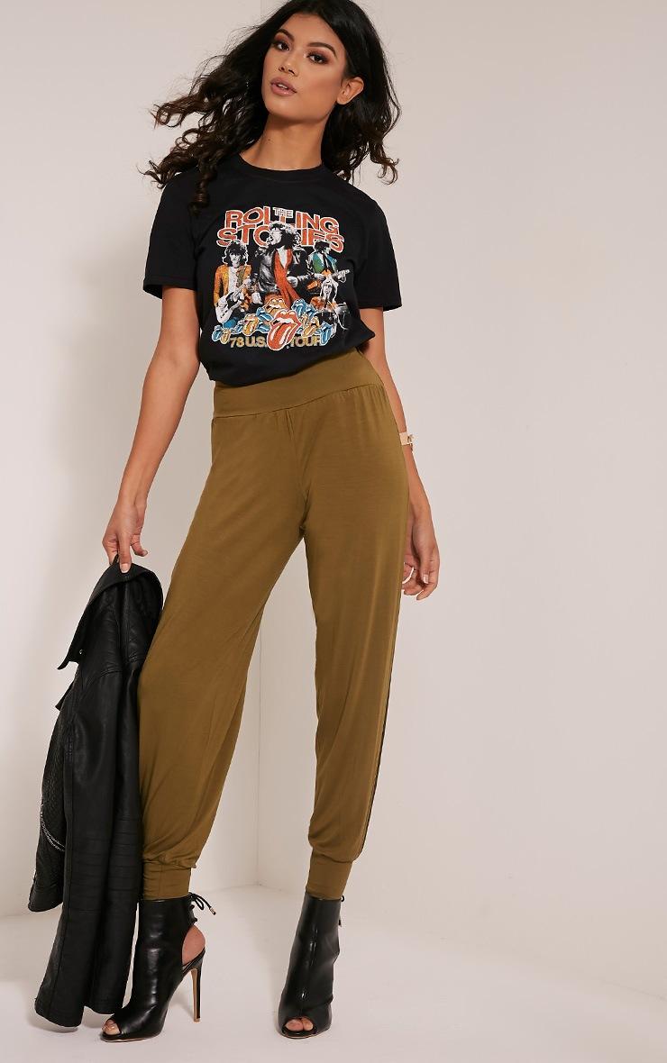 T-shirt boyfriend noir Rolling Stones 5