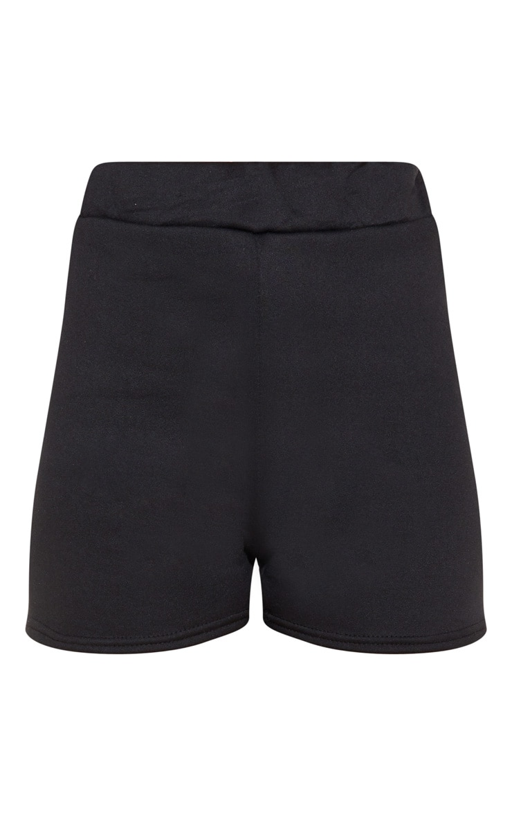 Black Sweat Casual Short  3
