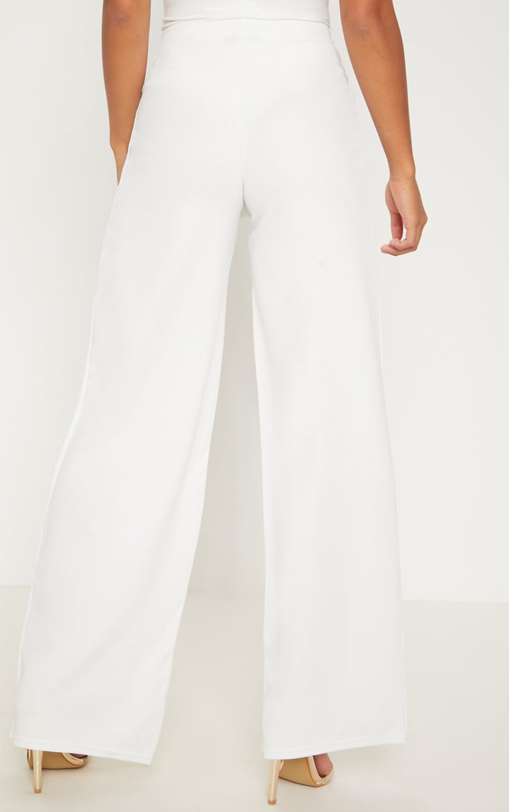 Petite pantalon ample blanc 4