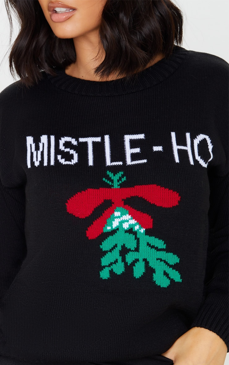 Black Mistle - Ho Christmas Jumper 5
