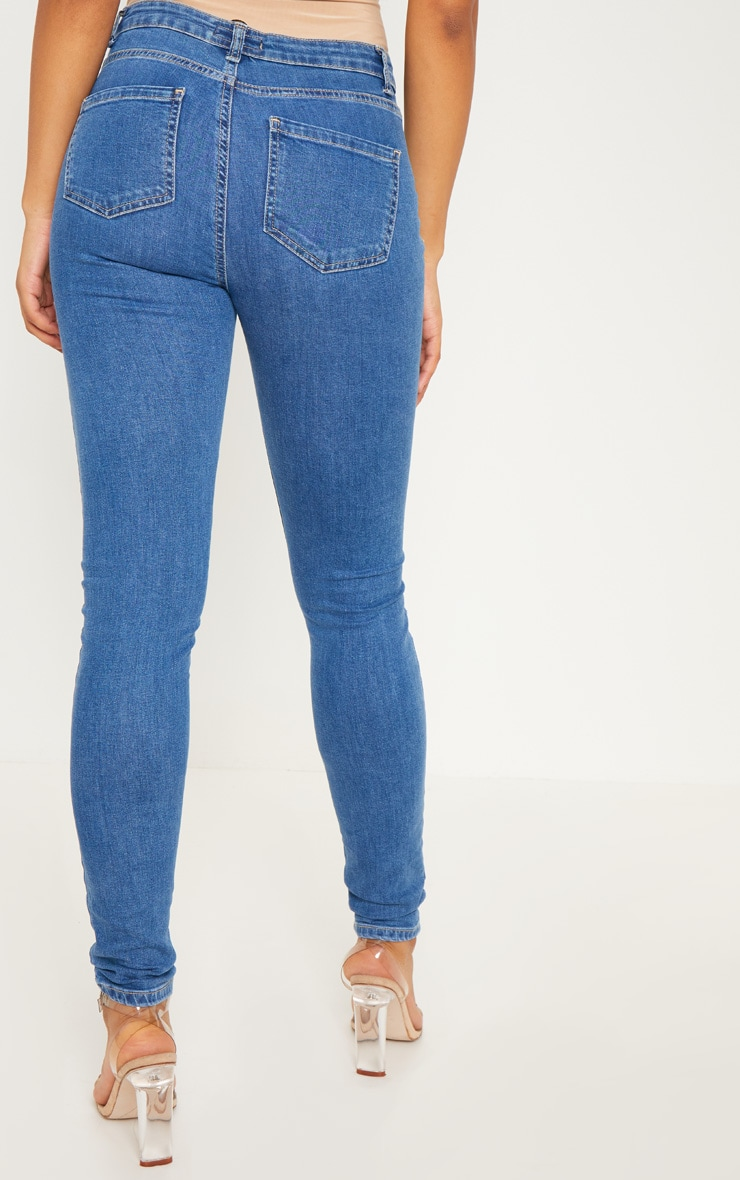 Tall - Jean skinny à délavage clair super stretch 4