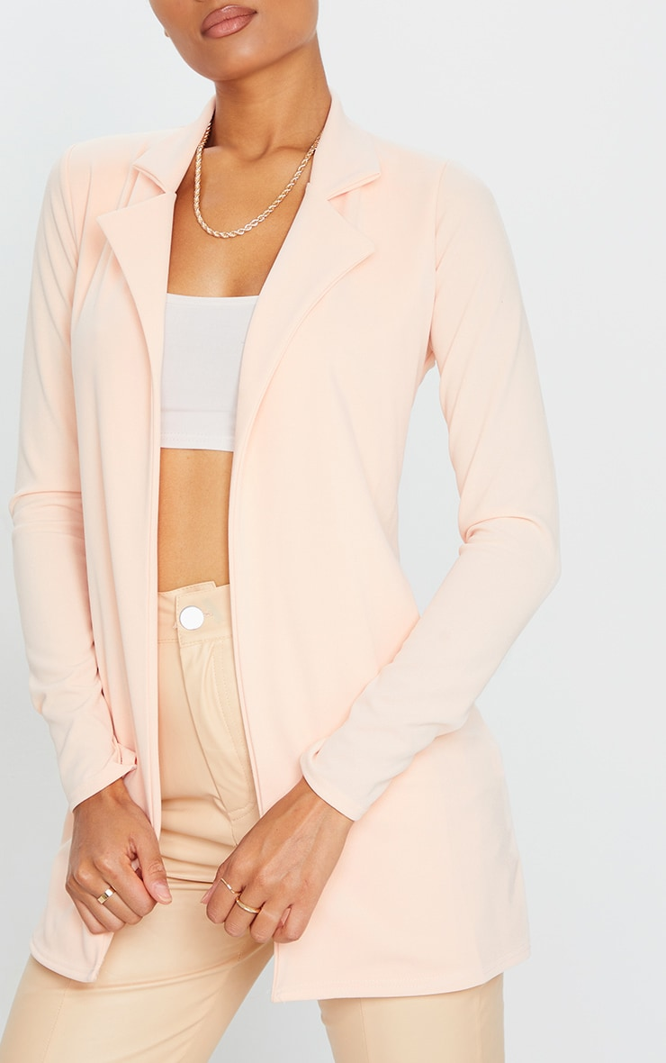 Blazer long nude 4