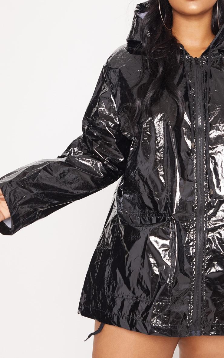 Plus Black  Holographic Rain Mac  5