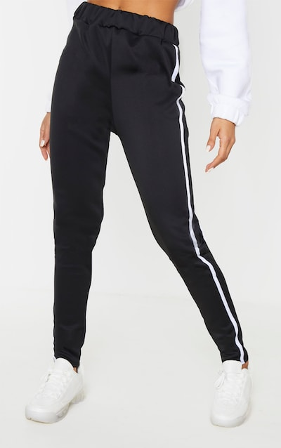 Black Side Stripe Skinny Trouser