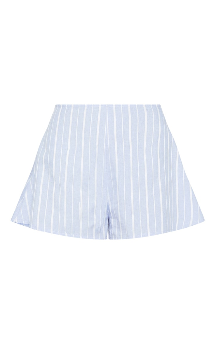 Blue Stripe Floaty Shorts 3