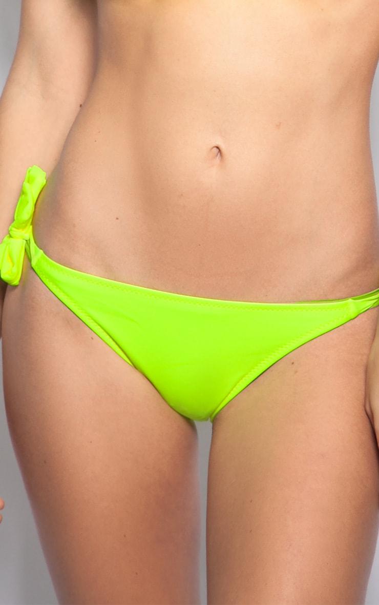 Alvina Yellow Bikini Bottoms 1