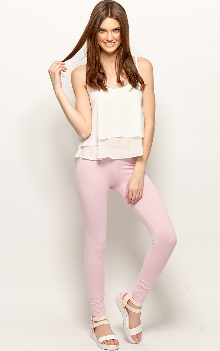 Harriet Pink Basic leggings-M 4
