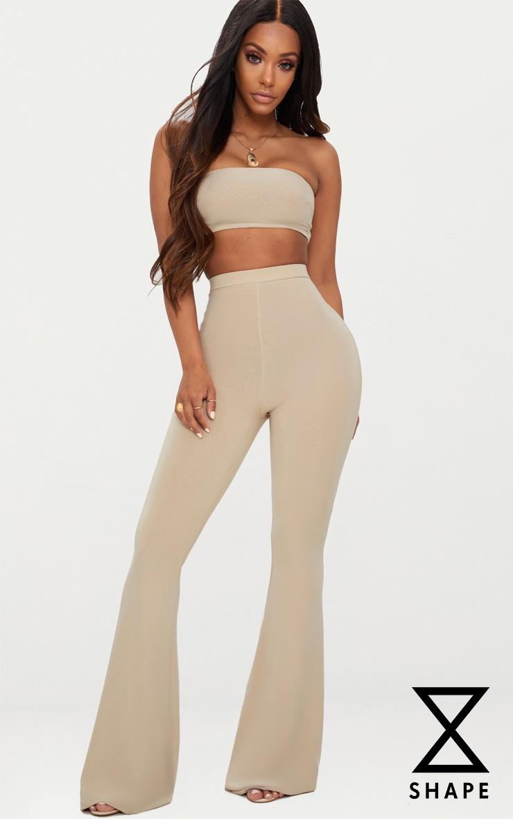 Shape Stone Slinky Flared Trousers