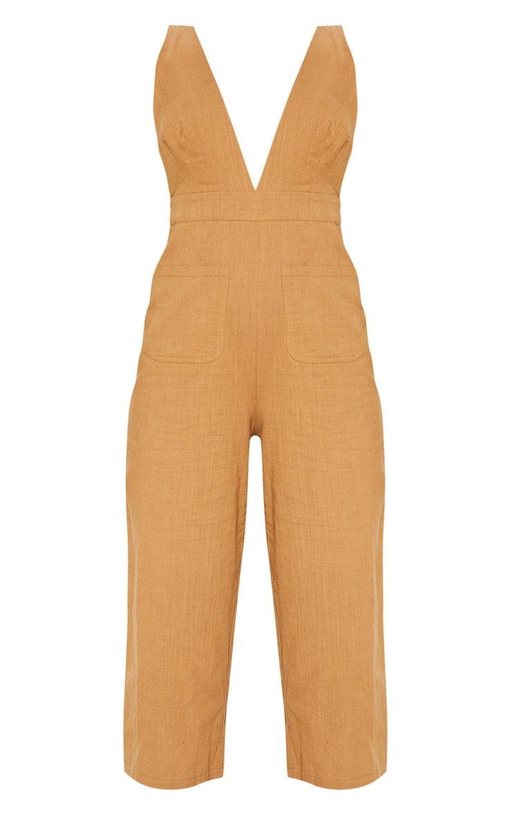 Camel Pocket Detail Dungaree 3