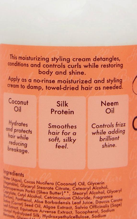 Shea Moisture Coconut & Hibiscus Curl & Style Milk 254ml 2