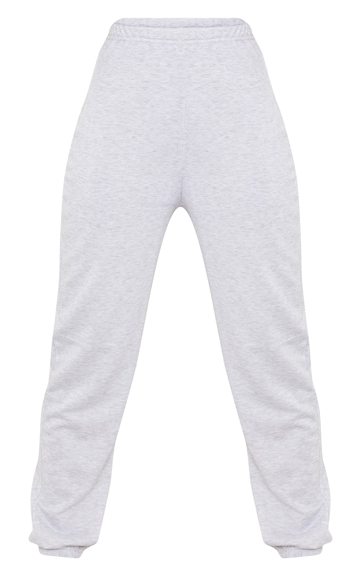Tall Grey Basic Cuffed Hem Sweatpants 1