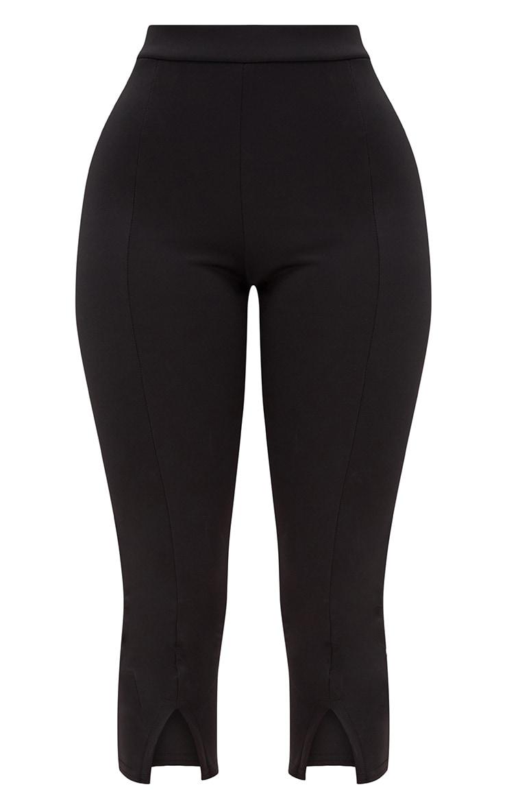 Shape Black Split Hem Trousers 3