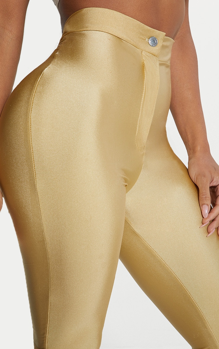 Seconde Peau - Pantalon disco champagne 6