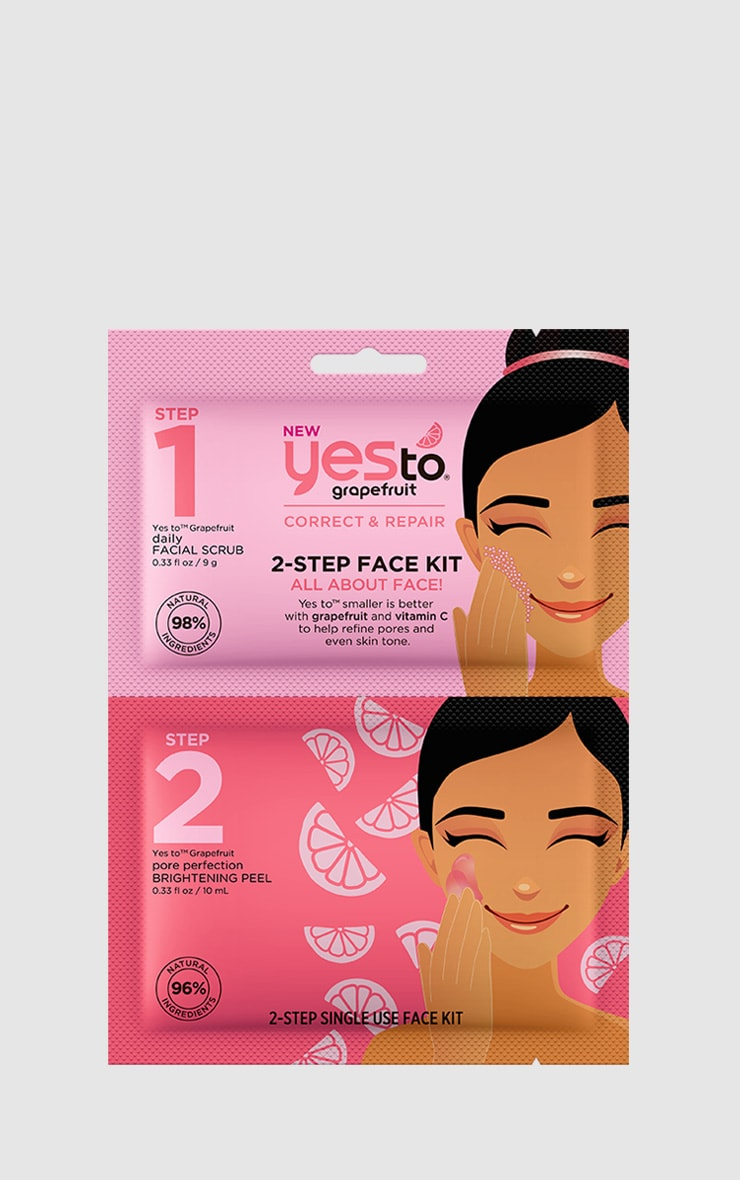 Yes To Grapefruit 2 Step Face Kit 1