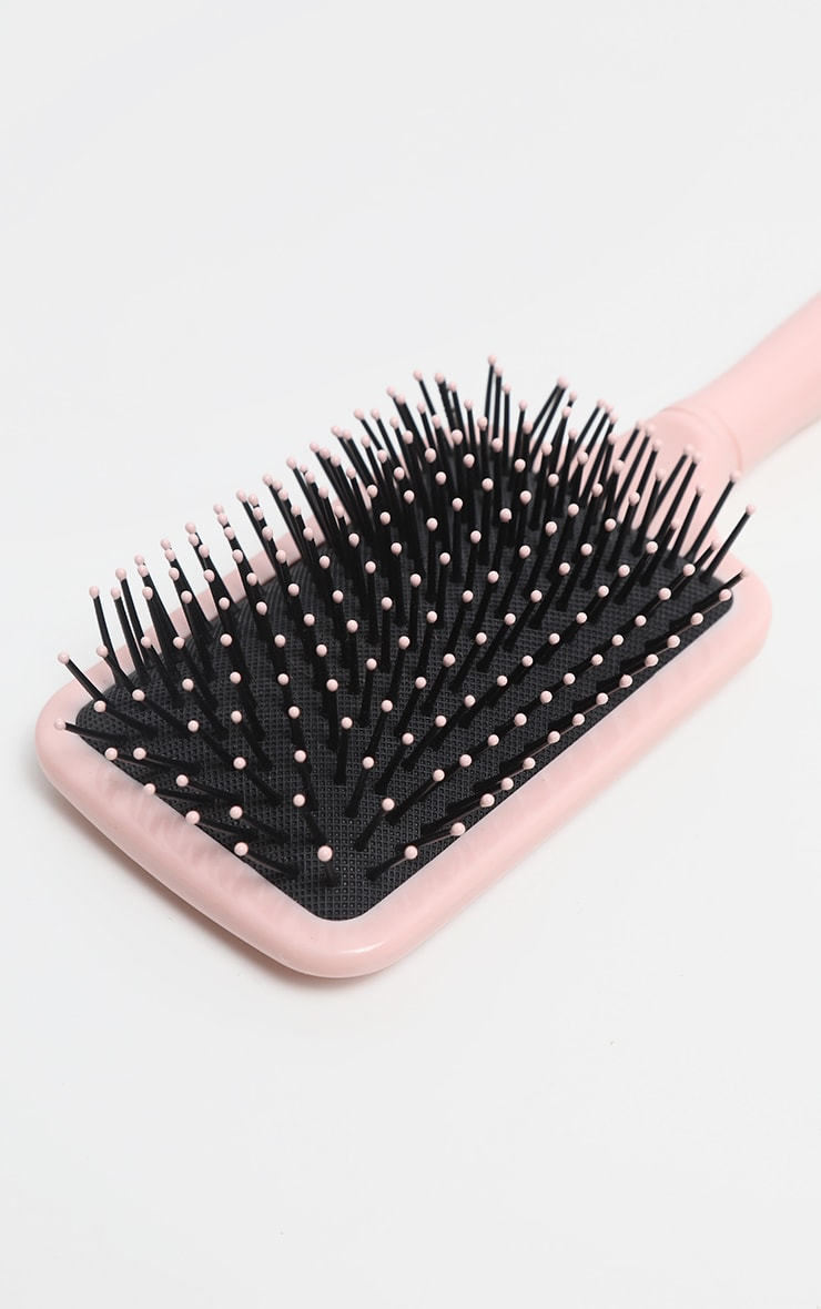 BaByliss Light Pink Paddle Hair Brush 3