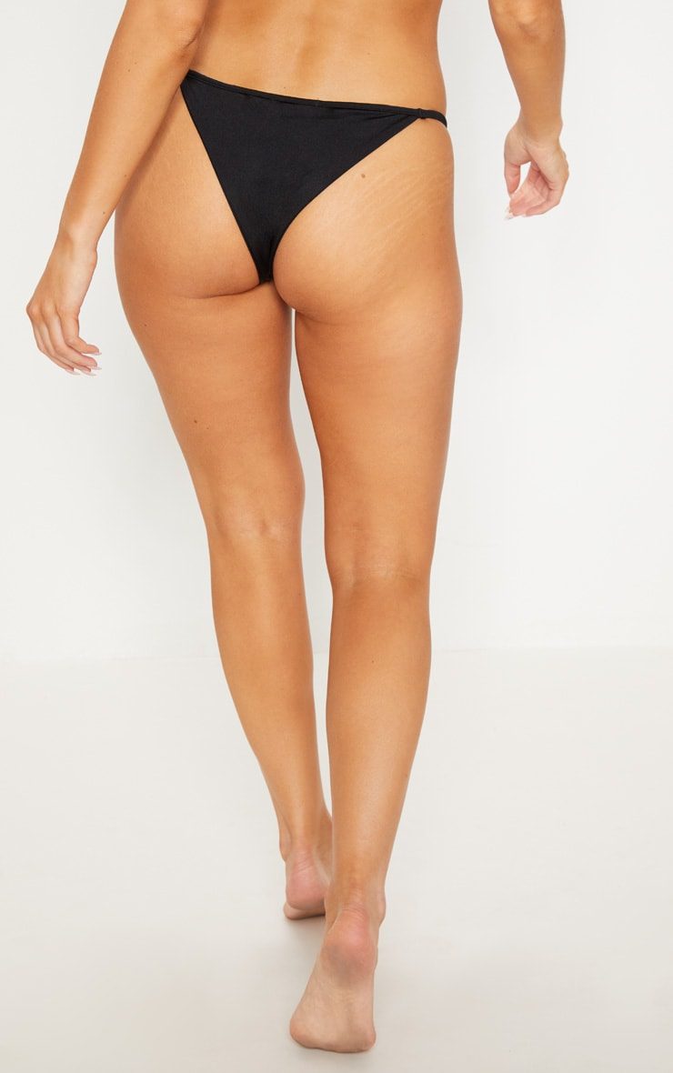 Black Mix & Match Itsy Bitsy Bikini Bottom 4