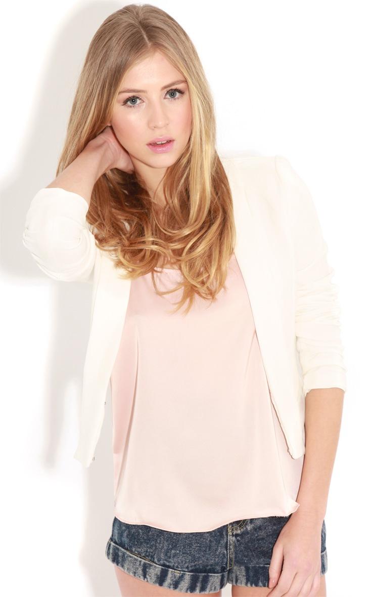 Lilian Pink Silk Cami  5