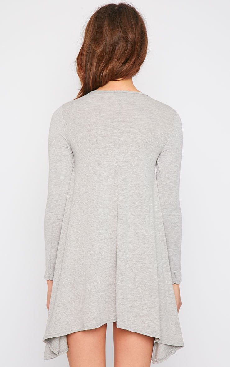 Basic Grey Swing Dress 2