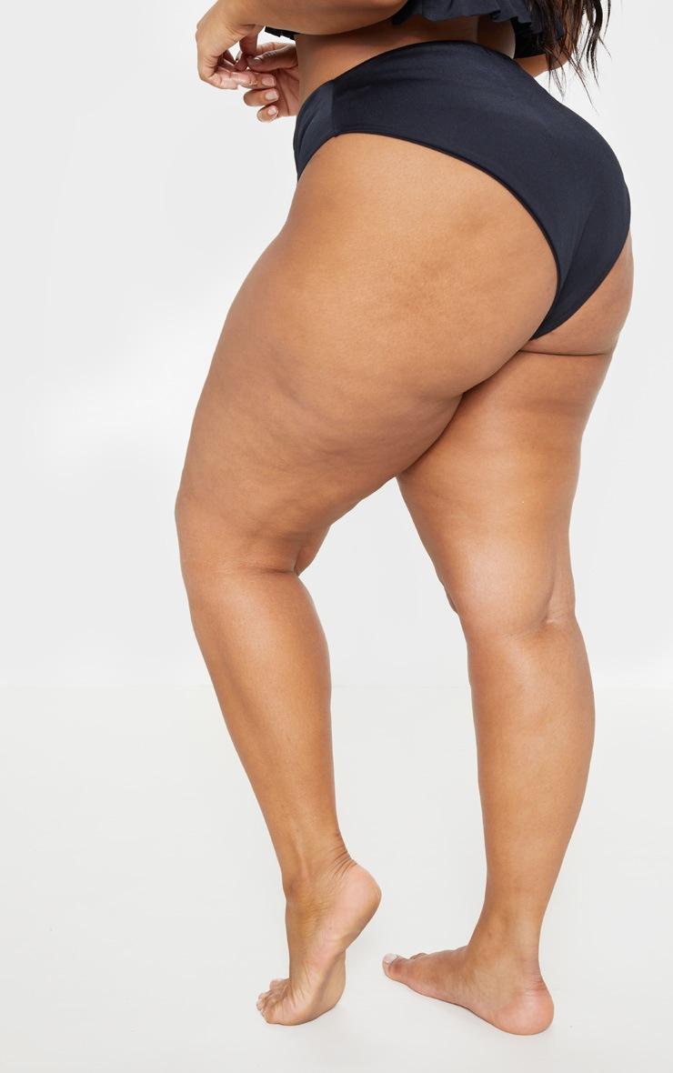Plus Black Bikini Bottom 4