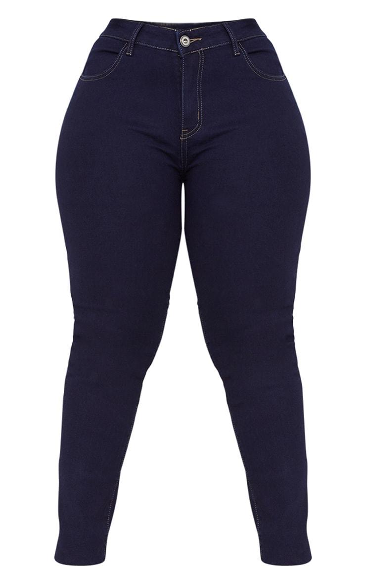 Plus Indigo Skinny Jeans 3