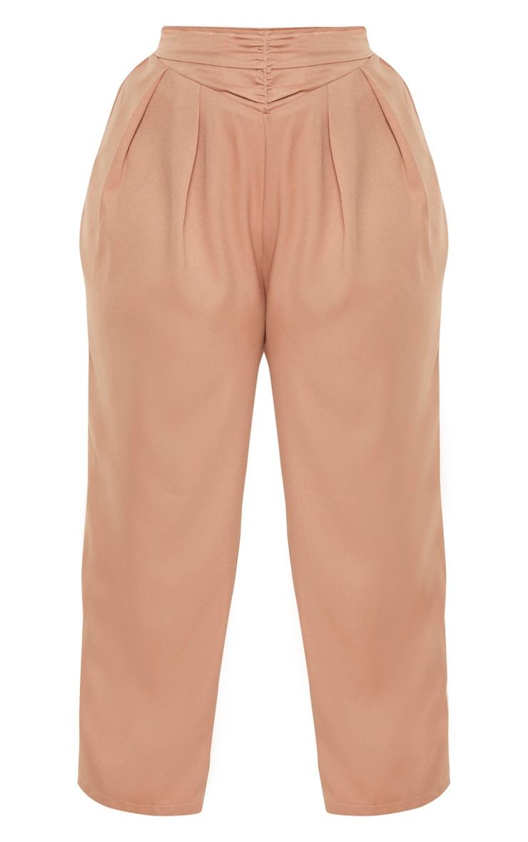 Plus Stone Ruched Waist Pants  3