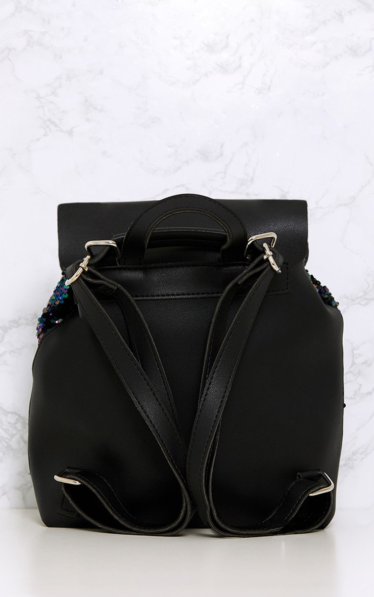 Bloom Multi Sequin Backpack  3