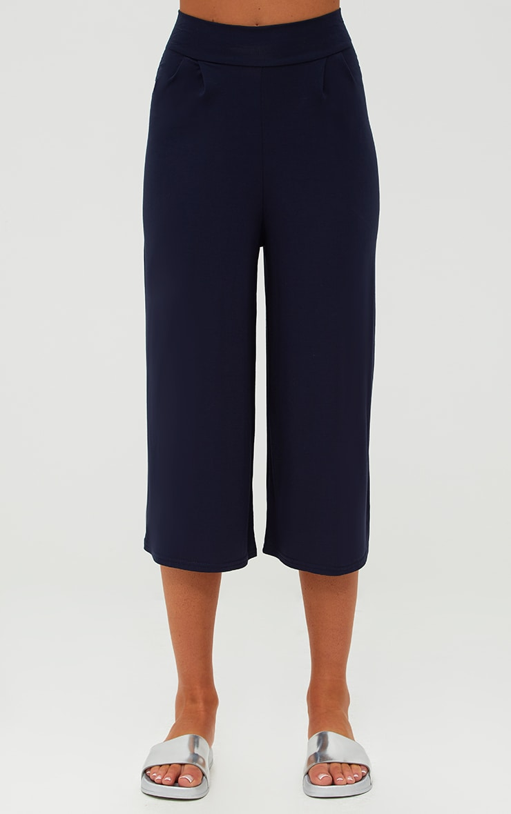 Navy Basic Culottes 2