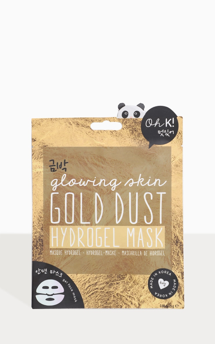 Oh K! Gold Dust Hydrogel Face Mask 1