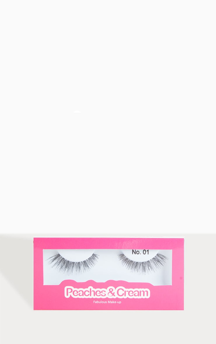 Peaches & Cream NO 1 False Eyelashes 1