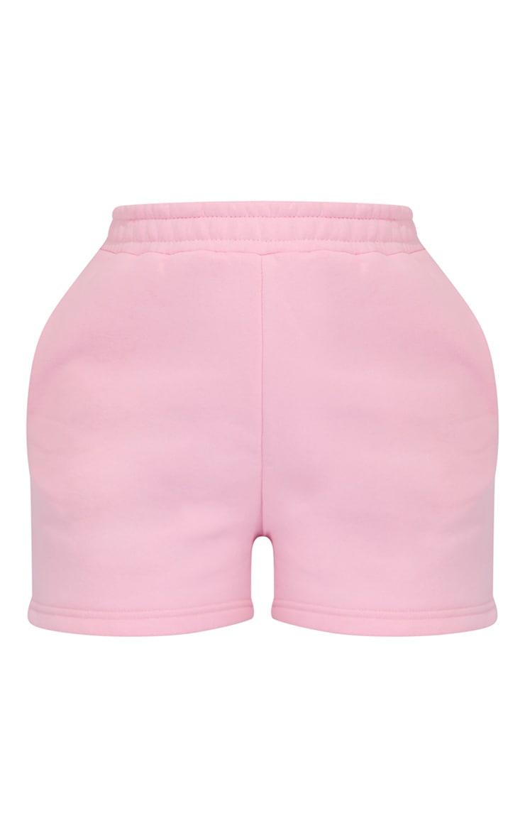 Baby Pink Sweat Pocket Shorts 6
