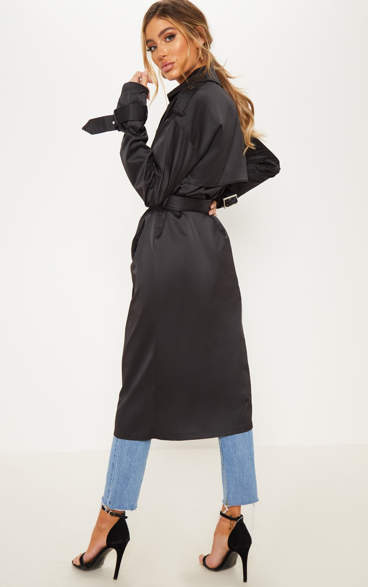 Black Trench Coat  2