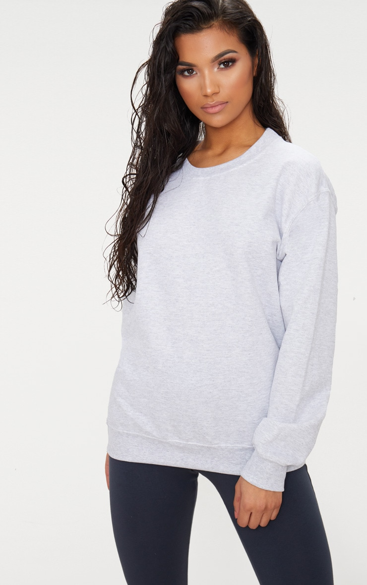 Light Grey Ultimate Oversized Sweater 1
