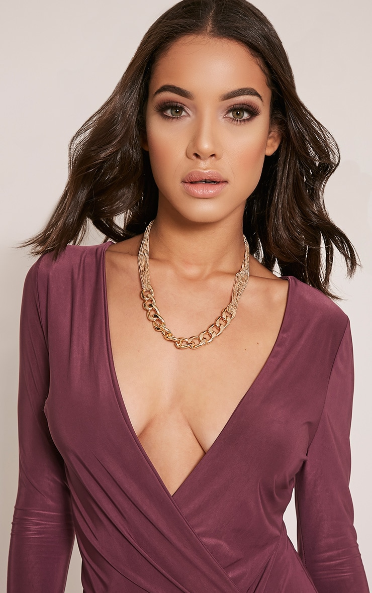 Lexi Gold Chain Link Necklace 1