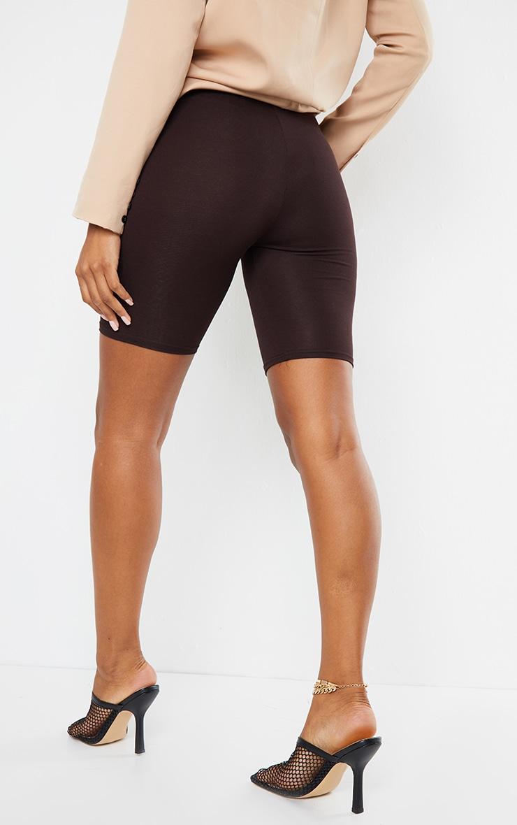 Chocolate Basic Cycle Shorts 1