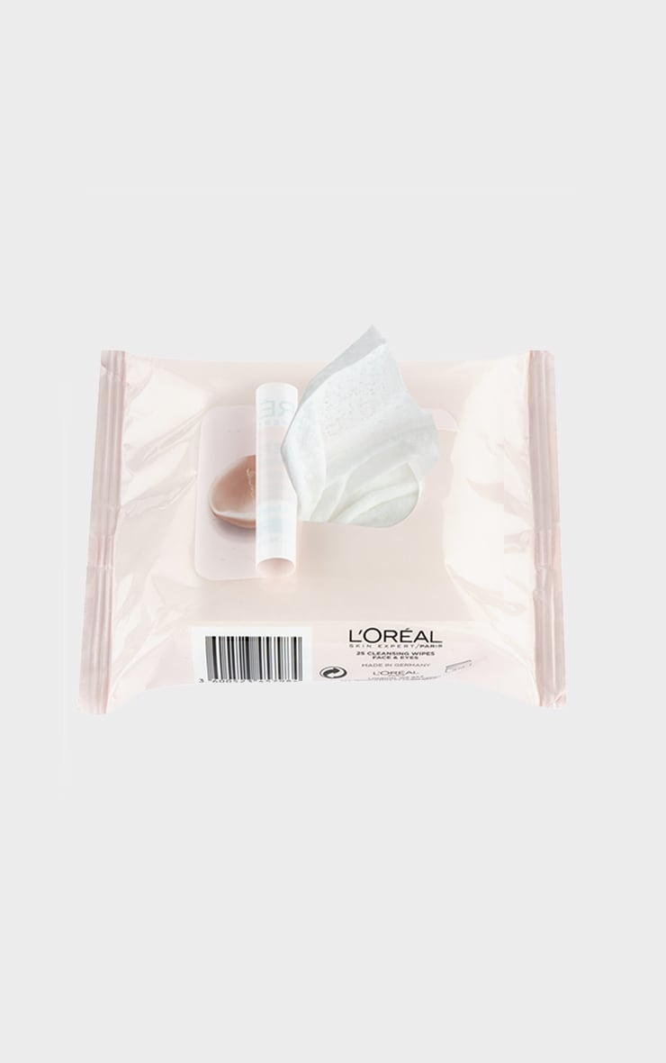 L'Oreal Paris Fine Flowers Cleansing Wipes Normal to Combination Skin x25 2
