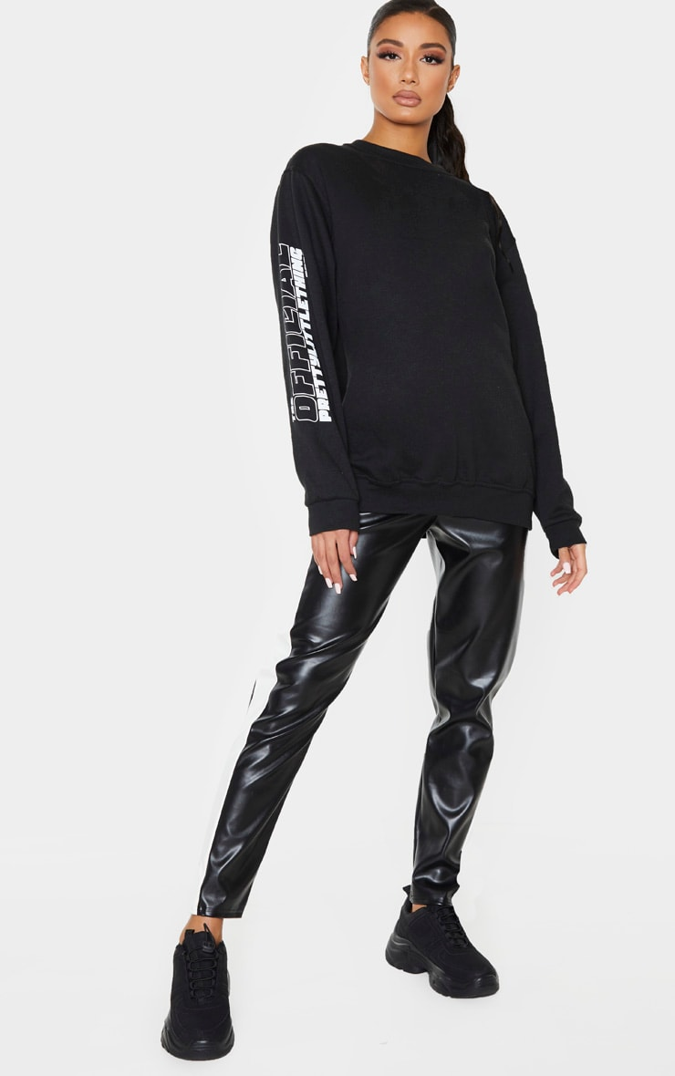 PRETTYLITTLETHING Black The Official 2020 Sweat 4