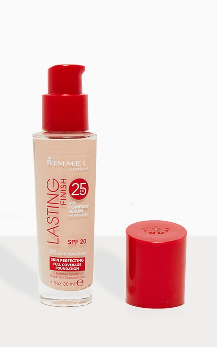Rimmel Lasting Finish 25 Hour Foundation Rose Ivory 010 1