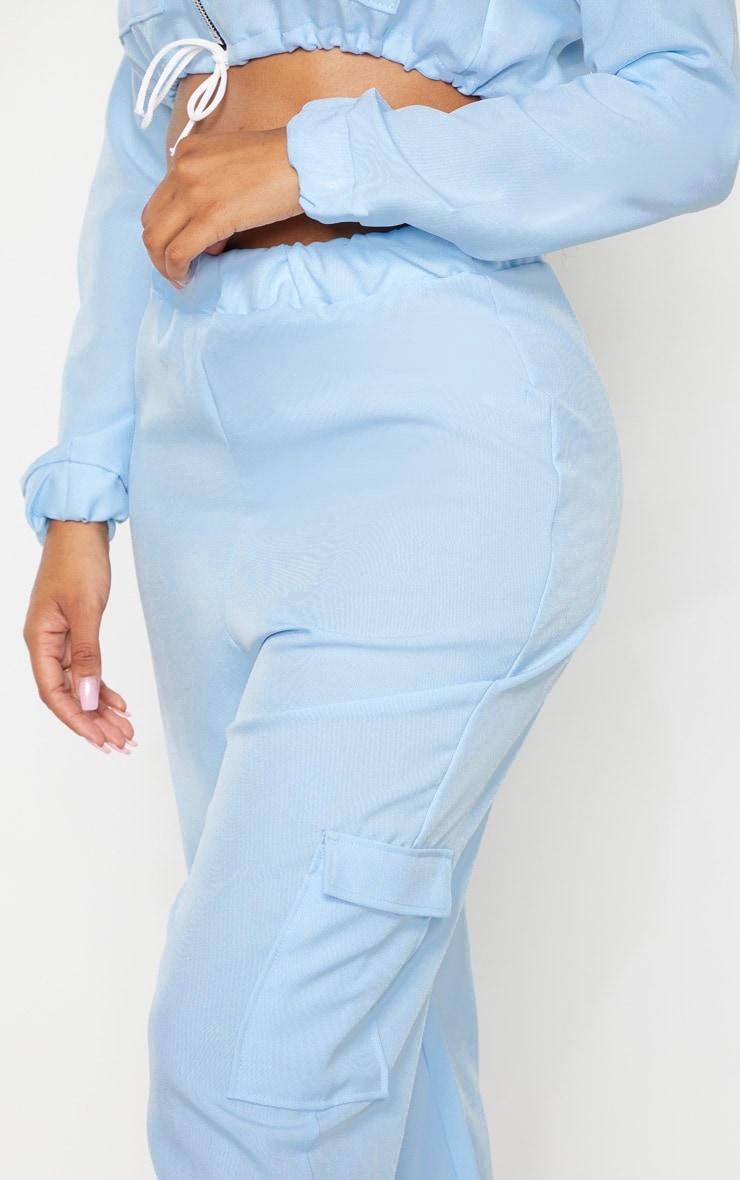 Shape Dusty Blue Utility Track Pants 5