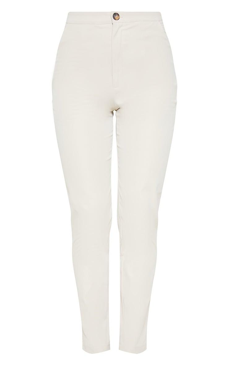 Stone Button Detail Pants  3