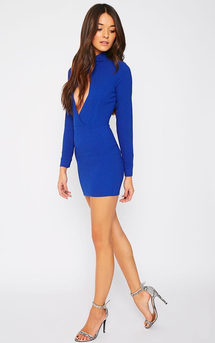 Edie Cobalt Cut Out Dress 3