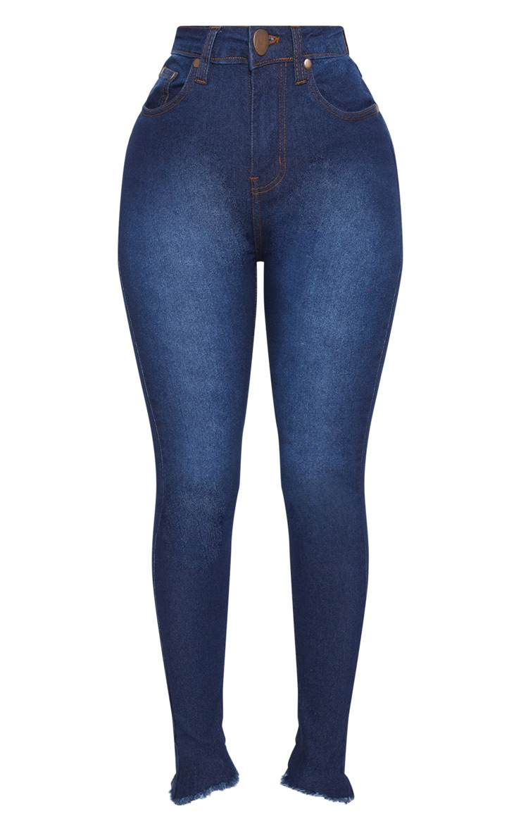 Shape Indigo High Waist Skinny Jeans 2