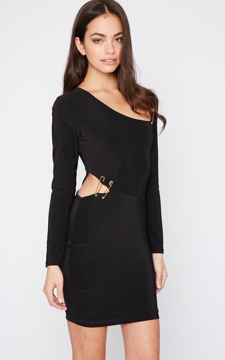 Unay Black Pin Dress 1