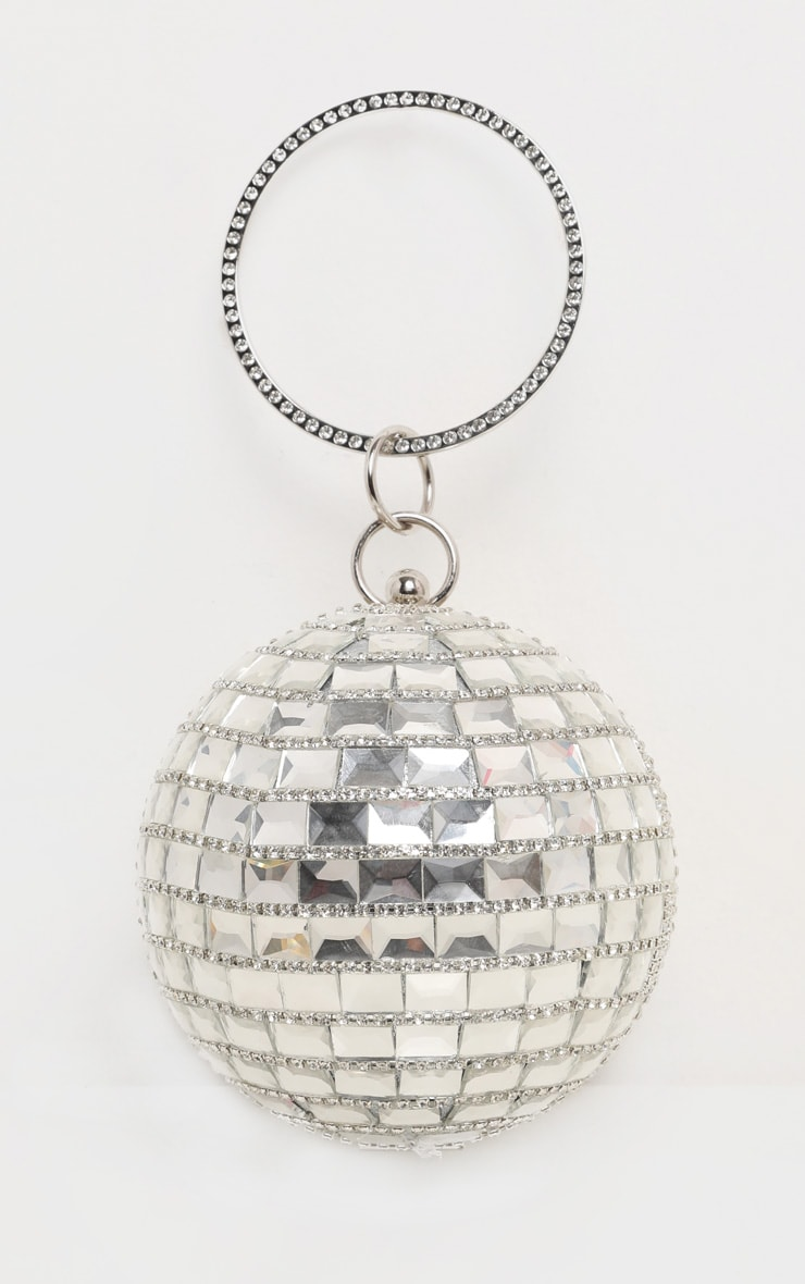 Silver Gemstone Sphere Bag 5