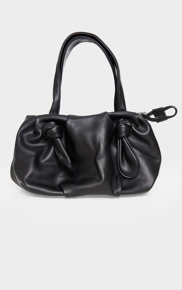 Black Double Knot Shoulder Bag 3