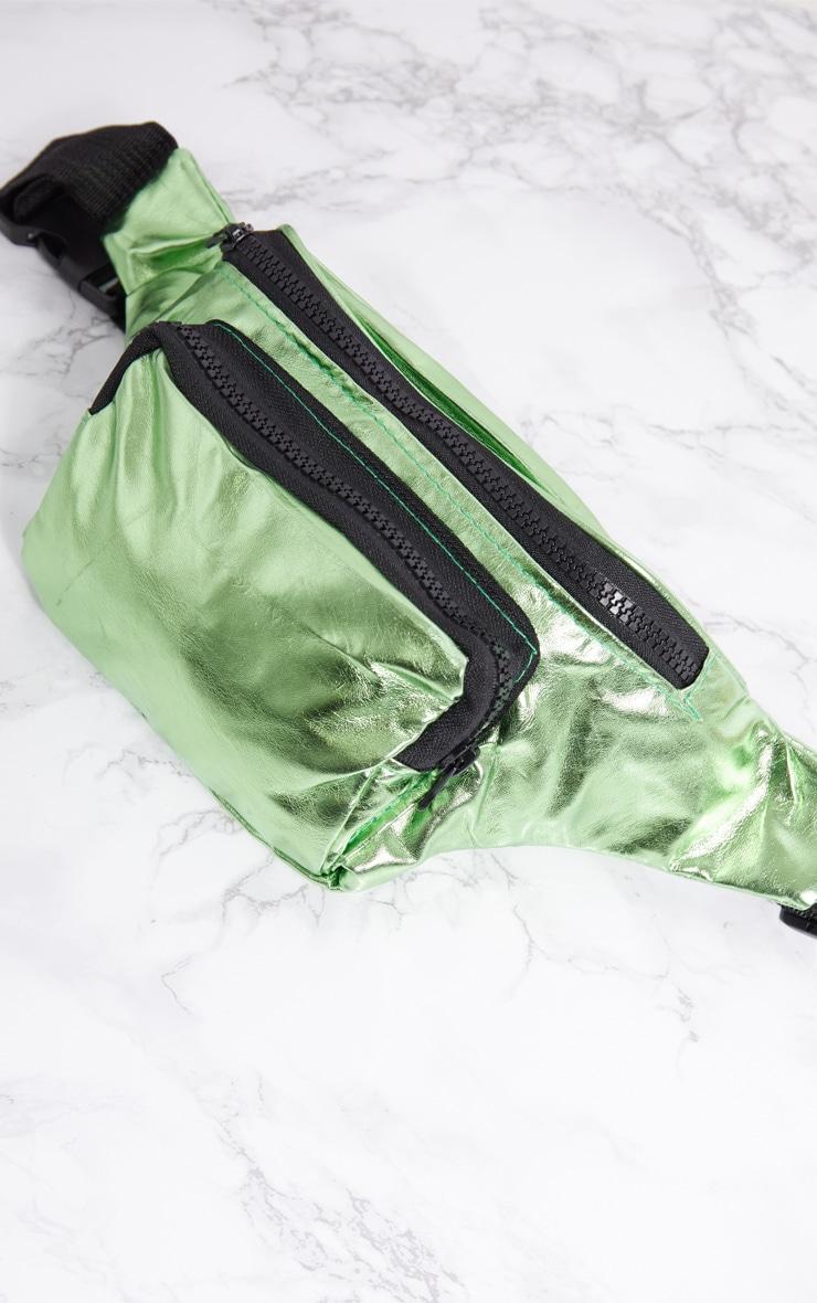 Green Metallic Bum Bag 6