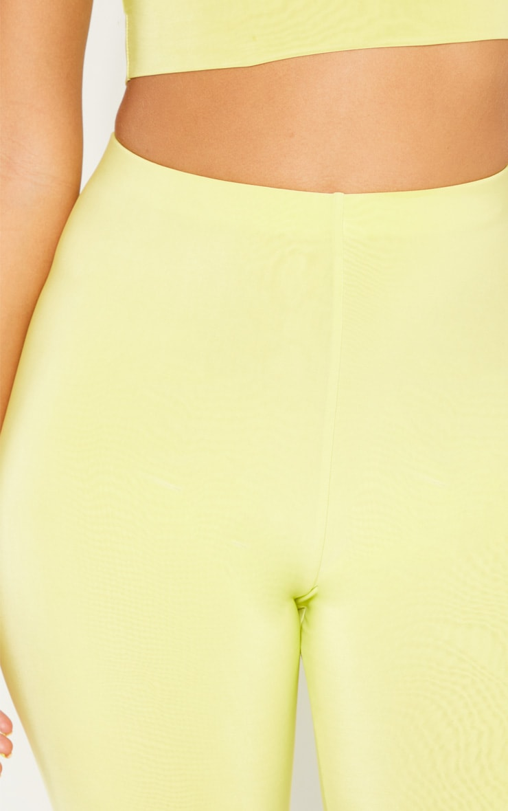 Short-legging long vert citron clair Mix & Match  6