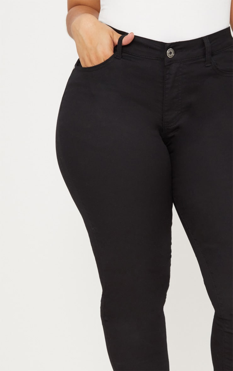 PLT Plus - Jean skinny noir 5